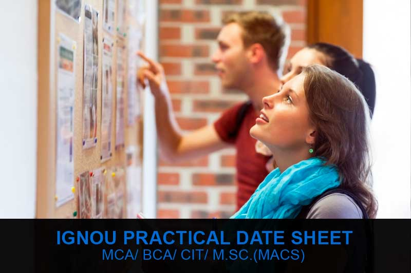 ignou practical date sheet