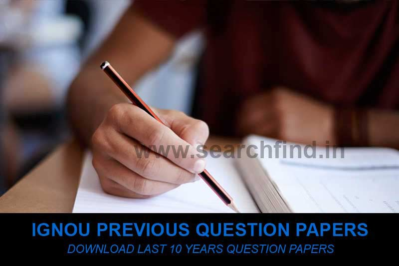ignou question papers previous year