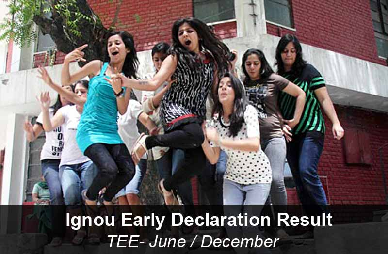 ignou early declaration result