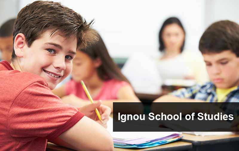 ignou school of studies