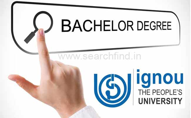 ignou bachelor degree programmes