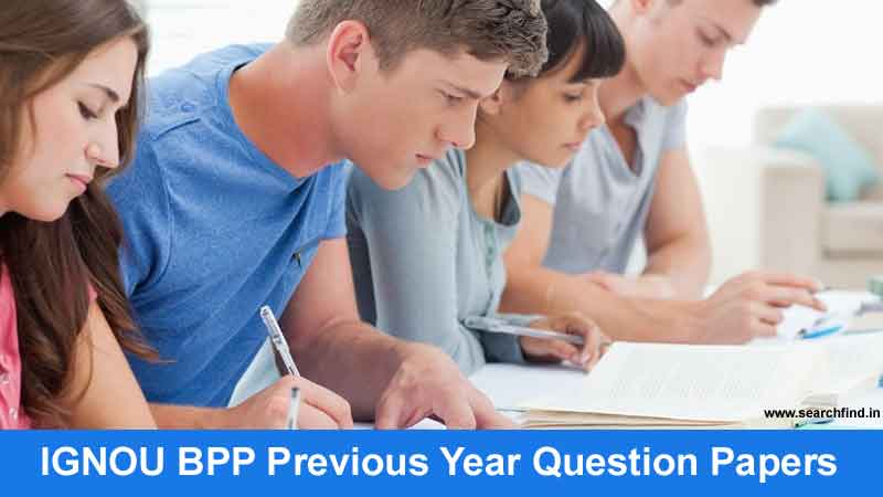 ignou bpp question papers pdf