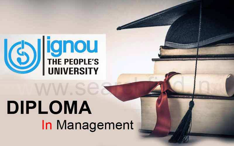 Ignou Diploma in Management Admission