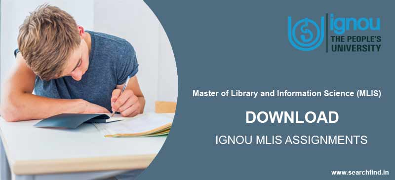 Ignou MLIS Assignment