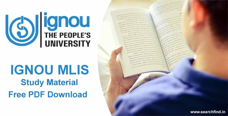 ignou mlis study material books download