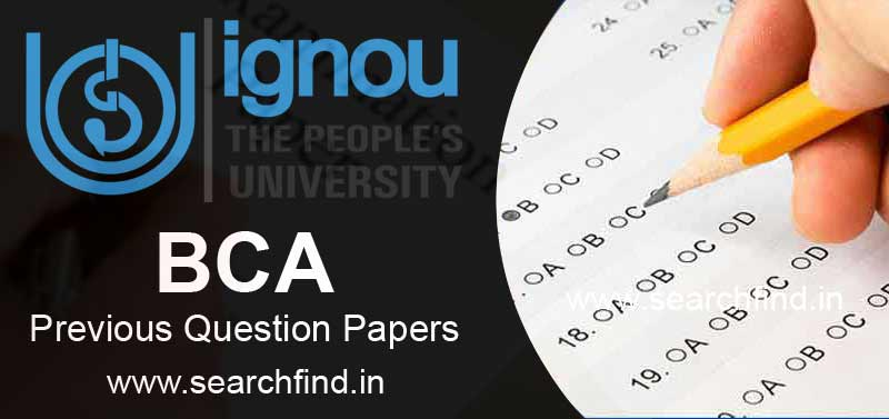 Download Ignou BCA Question Papers