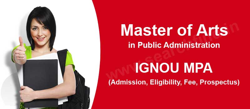 Ignou MA Public Administration admission