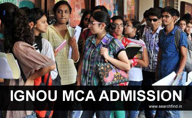 Ignou MCA Admission Online