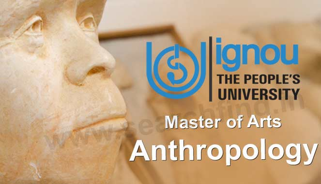 Ignou MA Anthropology Distance Education