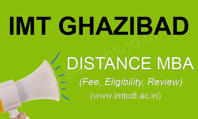 IMT distance mba