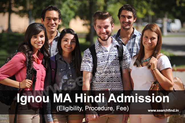 Admission to Ignou MA Hindi programme
