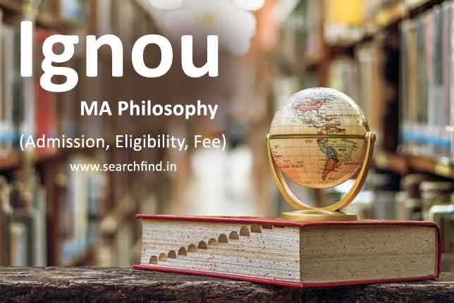 Ignou MA Philosophy